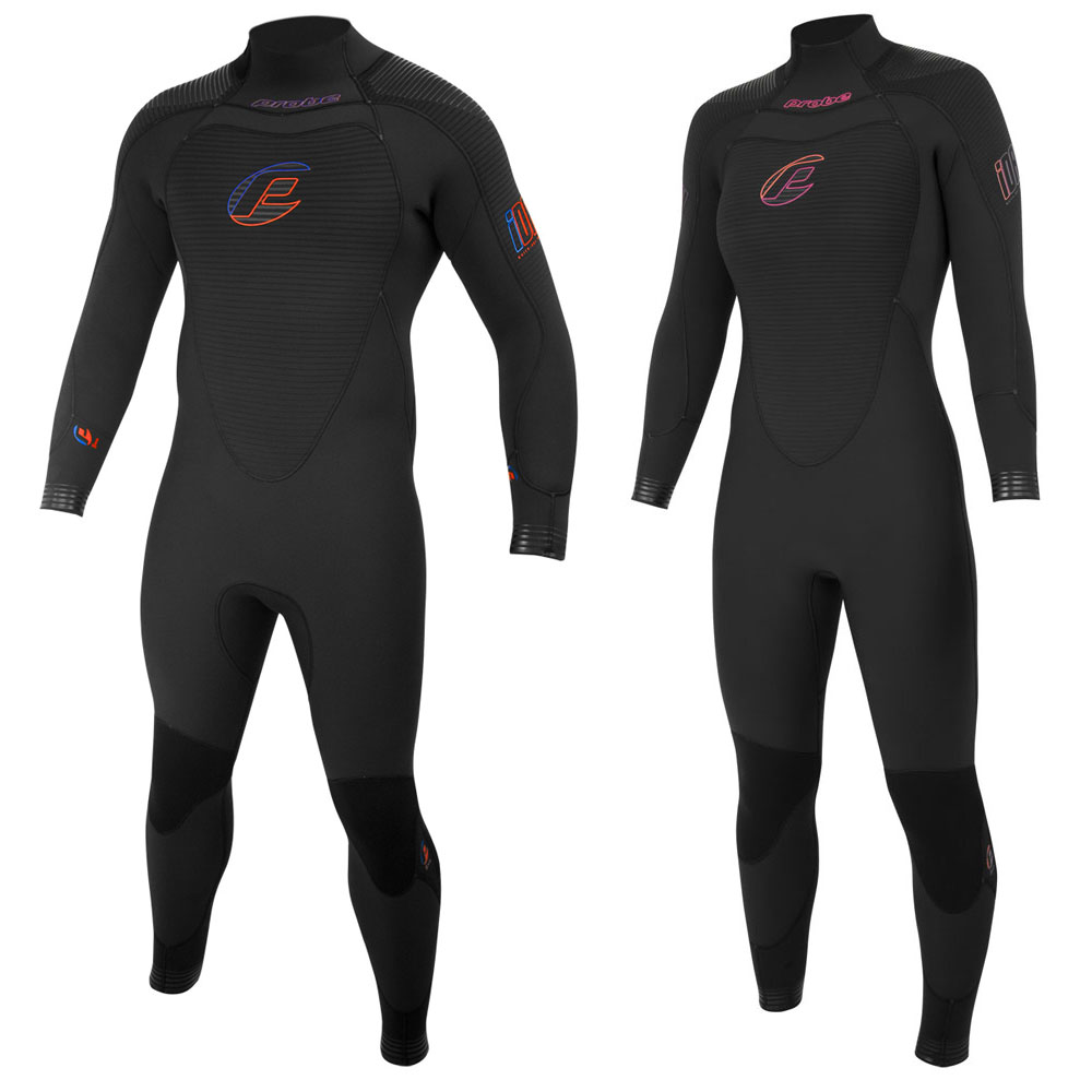 Probe iDry 7mm Quick-Dry Semi-Dry Suit (Back Zip)