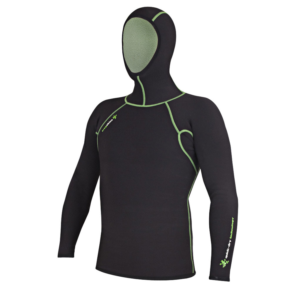 Probe Frogskins Quick-Dry Long Sleeved Hooded Top (Unisex)