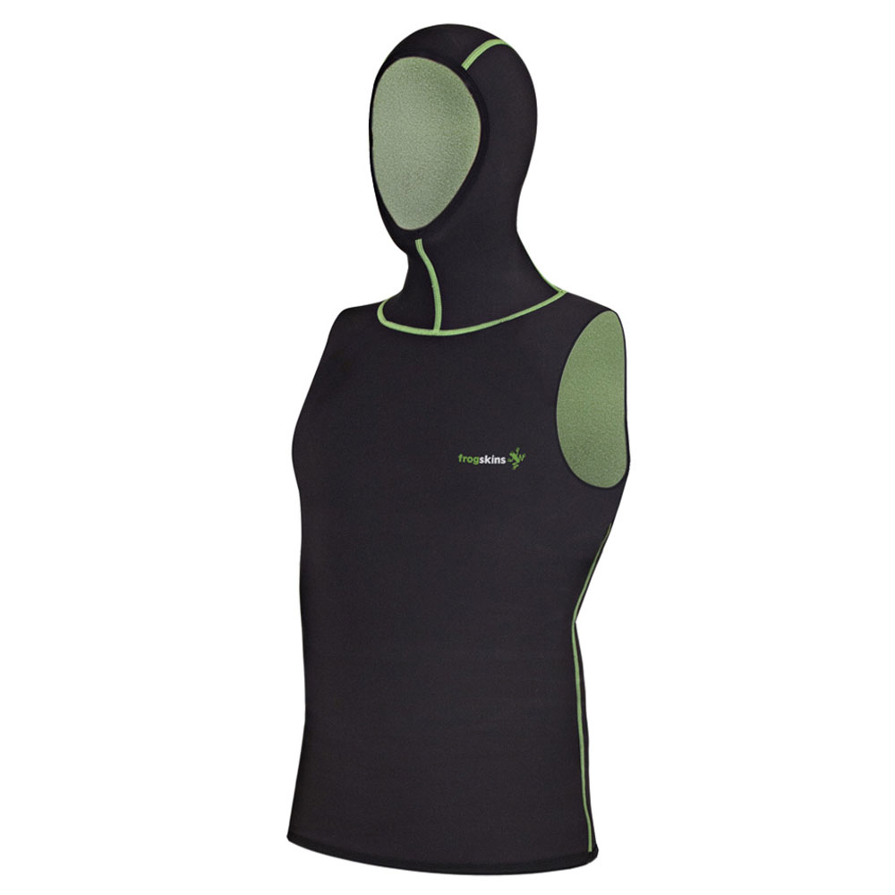 Probe Frogskins Quick-Dry Sleeveless Hooded Vest (Unisex)