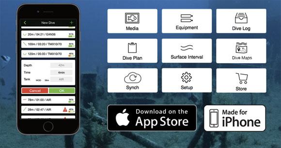 Scuba Capsule App Overview