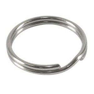 Split Ring 19mm (0.75 inch) - Stainless Steel