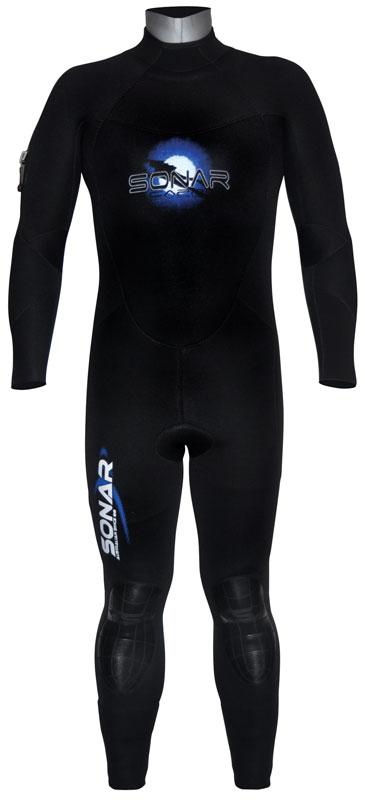 Sonar Capri Superstretch Semi Dry 7mm Wetsuit Size 4 0 4 5 7