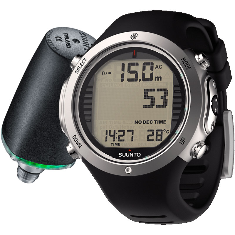 Suunto D6i Novo Watch Dive Computer with USB and Transmitter