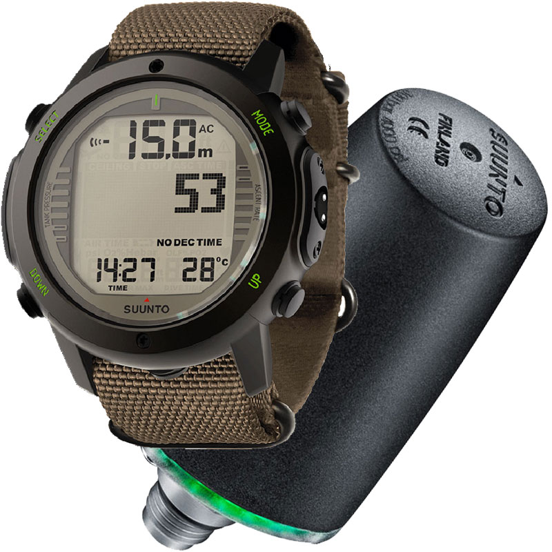 Suunto d6i novo zulu watch dive computer w usb and - Suunto dive computer ...