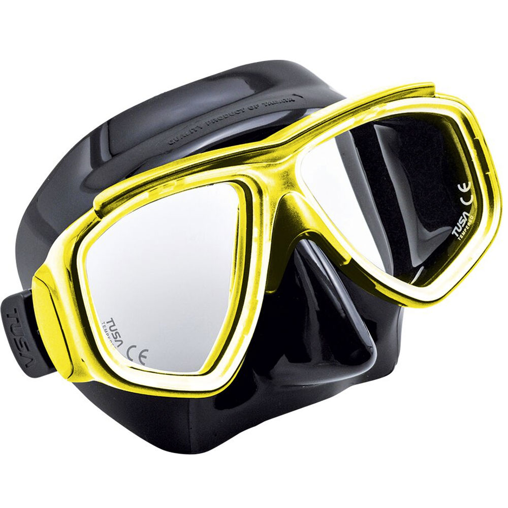Tusa Sport Splendive Mask with Corrective Lenses -+B - Click Image to Close