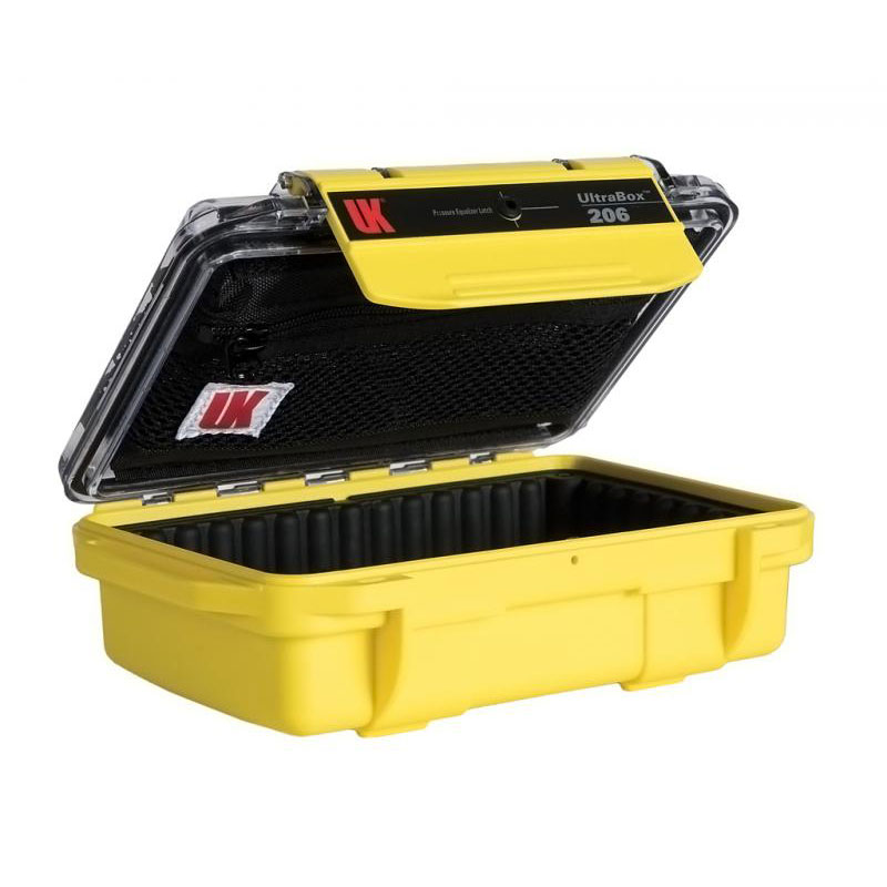 Underwater Kinetics UltraBox 206 Case with Padded Liner