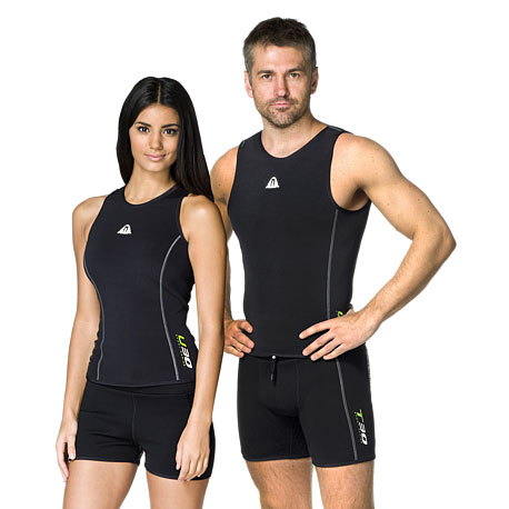0e034368e53c64 Waterproof U30 2.0mm Undervest (Mens and Womens) Discontinued - The Scuba  Doctor Dive Shop